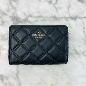 Kate Spade Natalia Quilted Medium Bifold Wallet